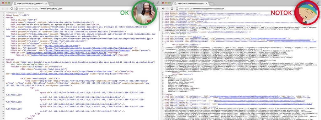 optimisation du code html css js